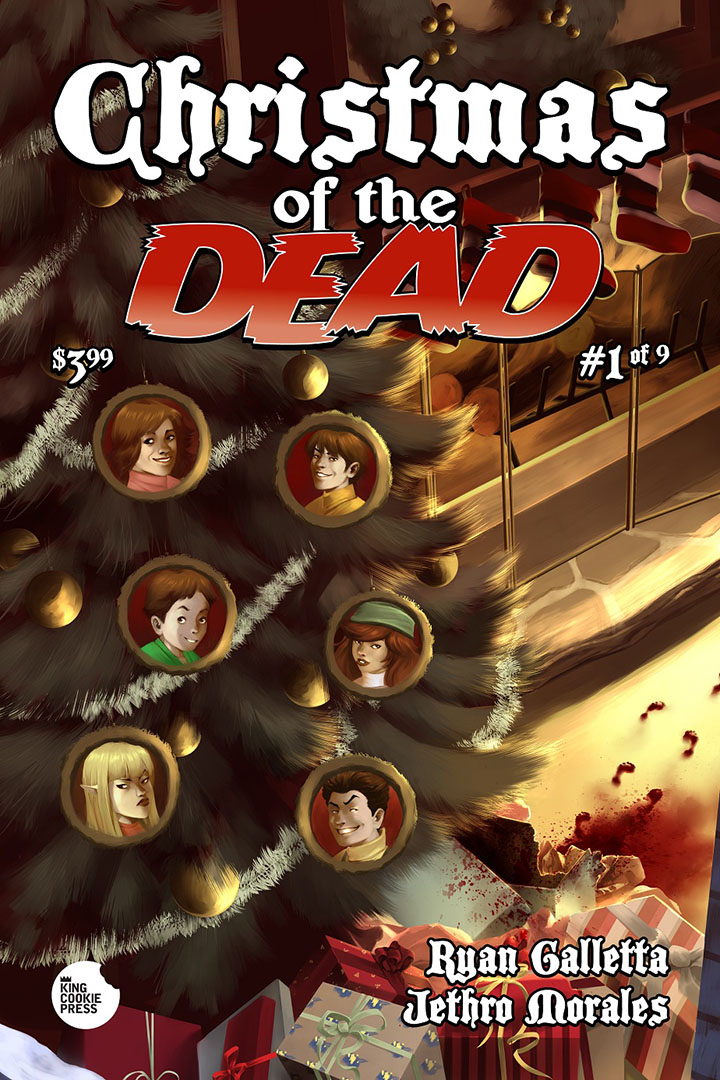 Christmas of the Dead Issue # 1 Cover