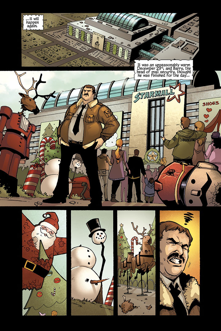Christmas of the Dead Issue # 1 Preview
