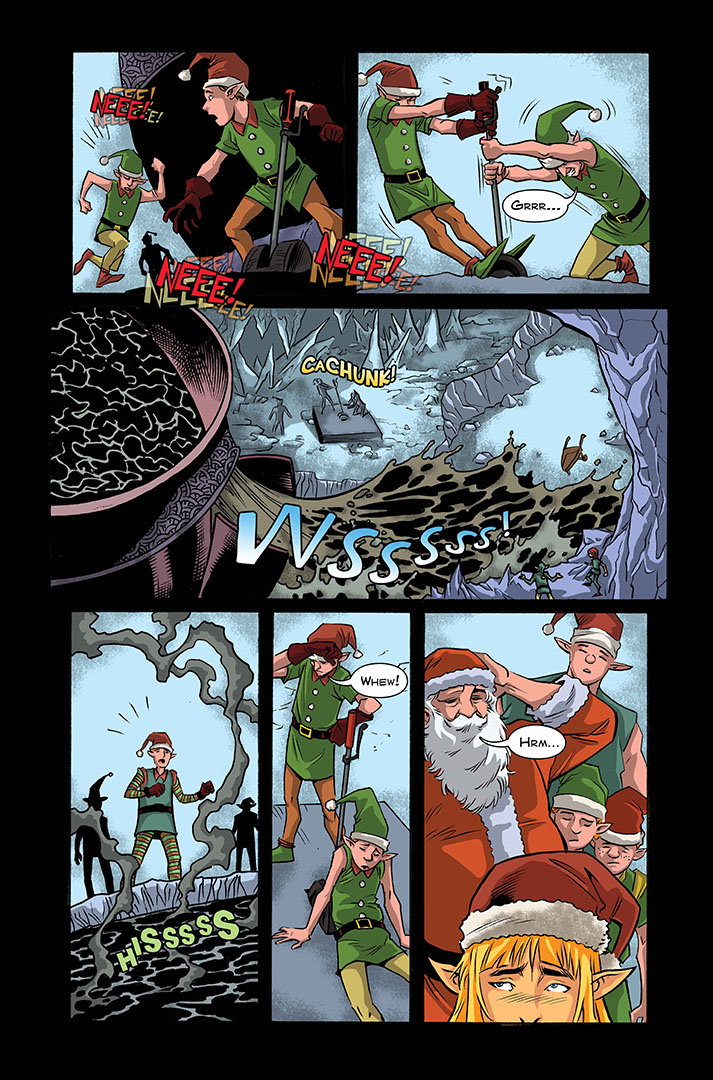 Christmas of the Dead Issue # 2 Preview