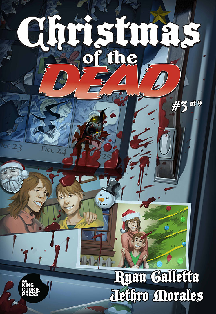 Christmas of the Dead Issue # 3 Cover
